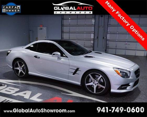 2013 *Mercedes-Benz* *SL-Class* SL550 Cabriolet *Over 100 in Stock-Ind