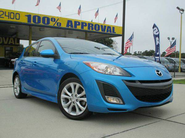 2010 *Mazda* *MAZDA3* s Sport 4dr Hatchback 5A - GET APPROVED TODAY!!!