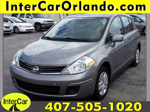 2012 NISSAN VERSA HATCHBACK -50K MILES - AUTOMATIC -ONE OWNER