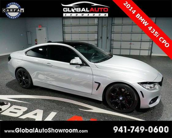 2014 *BMW* *4* *Series* 435i *Over 100 in Stock-Indoor Showroom-SR 64