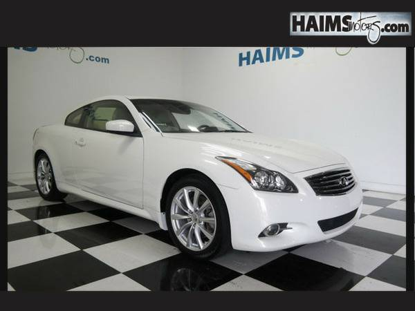 2013 *Infiniti* *G37 Coupe* *2dr Journey Rwd* 29538 Miles