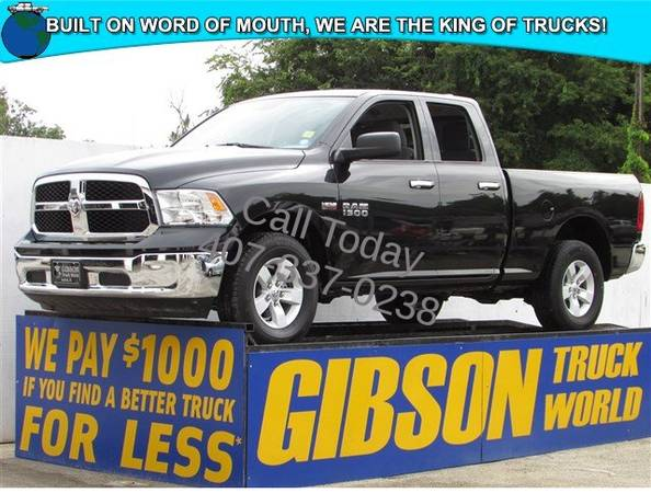 USED 2016 RAM 1500 HEMI GIBSON FORD CHEVY DODGE TRUCK WORLD
