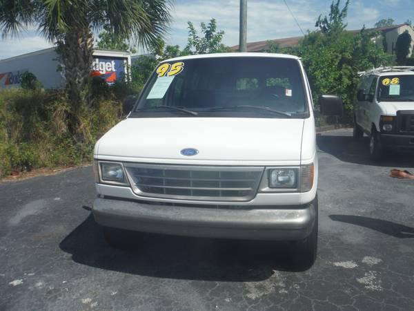 95 Ford E-150 Cargo Van
