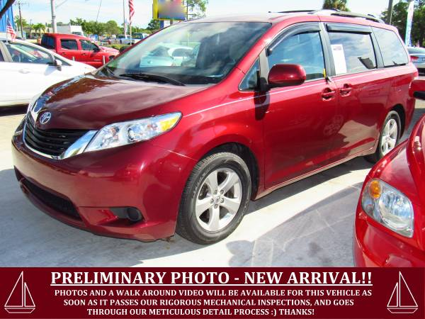 ~ ~ ~ 2013 TOYOTA SIENNA LE! BLUETOOTH! FACT WARRANTY! ~ ~ ~