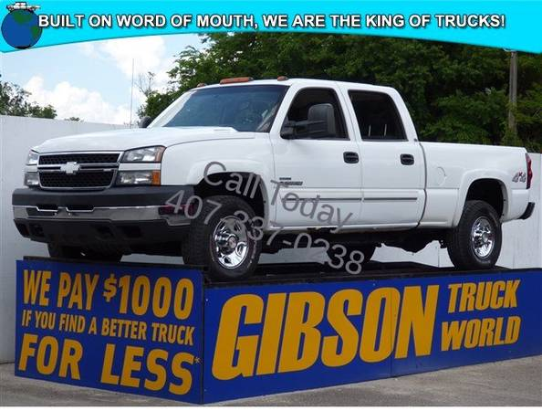 USED 2007 CHEVROLET SILVERADO 2500 CLASSIC GIBSON FORD CHEVY DODGE...