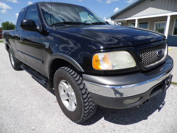 ** WOW ** 2002 FORD F-150 EXT.CAB 4X4 OFF ROAD PACKAGE ** LOW MILES **