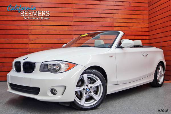 2013 BMW 128i Navigation 1 Series Alpine White