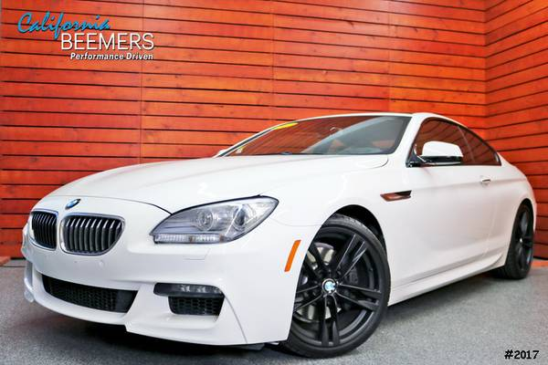 2014 BMW 640i Coupe M Sport 6 Series Alpine White