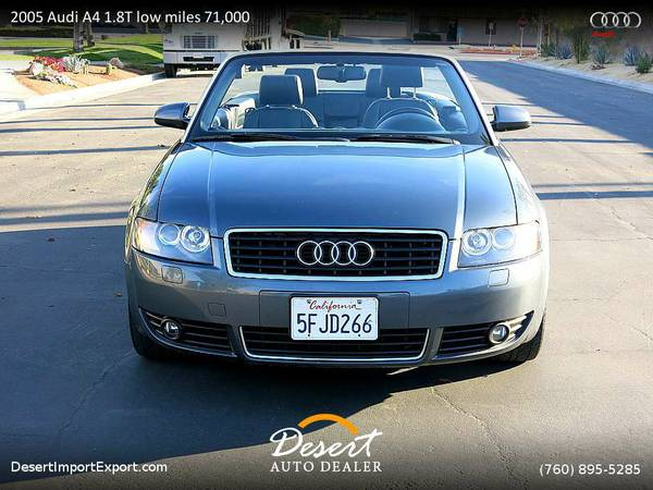 2005 Audi A4 1.8T low miles 71,000 miles only today $6,500