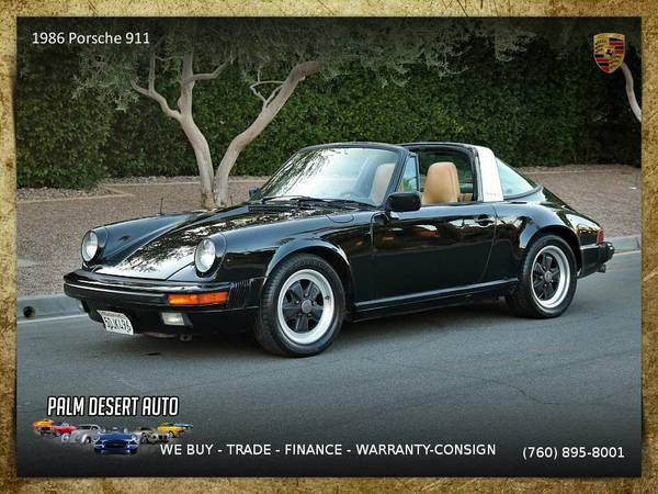 1986 Porsche 911 Convertible in EXCELLENT Condition