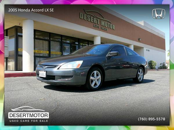2005 Honda Accord LX SE Coupe with lots of power and style