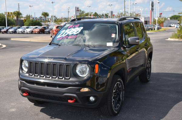 2015 Jeep Renegade Trail Rated 4X4