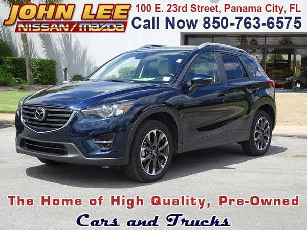 2016 *Mazda CX-5* Grand Touring - (Blue Reflex Mica) 4 Cyl.