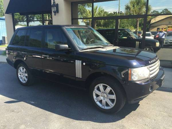 2008 LAND ROVER RANGE ROVER HSE PACKAGE FULLY LOADED GORGEOUS