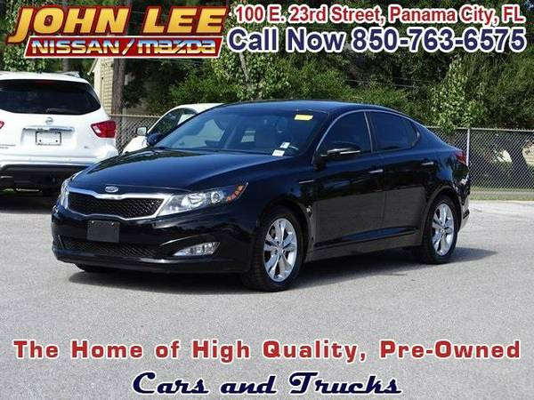 2012 *Kia Optima* LX - (Ebony Black) 4 Cyl.