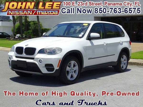 2011 *BMW X5* xDrive35i - (Alpine White) 6 Cyl.