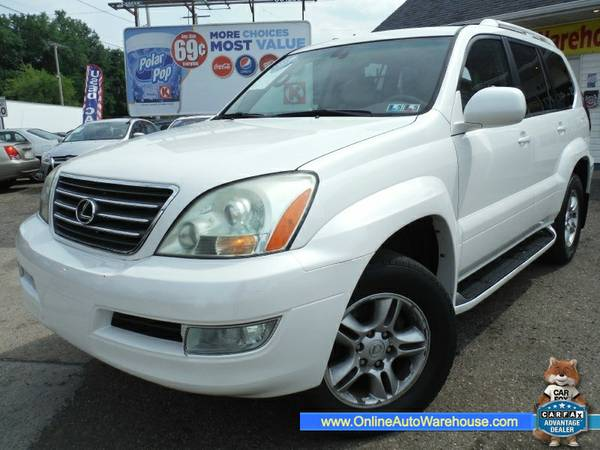 2003 *Lexus* *GX 470* 4WD FULLY LOADED LEATHER NAVIGATION 3RD ROW