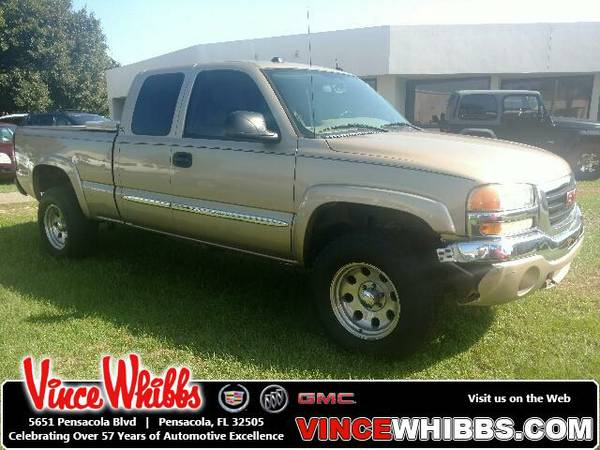 2005 GMC Sierra 1500 Extended Cab Pickup Ext Cab 143.5 WB 4WD SLT