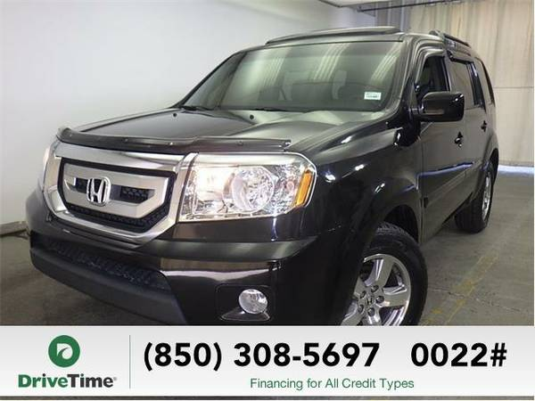 Beautiful 2011 *Honda Pilot* EX-L (BLACK) - Clean Title