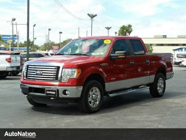 2011 Ford F-150 XLT SuperCrew Cab