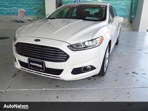 2014 Ford Fusion SE Ford Fusion SE Sedan