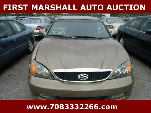 2005 Suzuki Verona - First Marshall Auto Auction