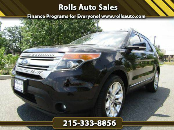 2013 *Ford* *Explorer* XLT 4WD From $495 Down! EZ Financing