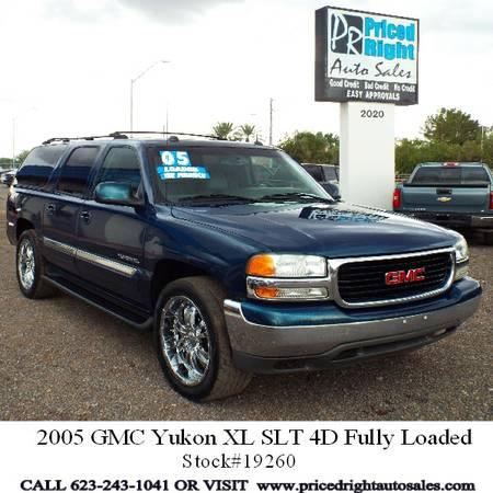 2005 GMC Yukon XL SLT 4D Fully Loaded Bad Credit OK!