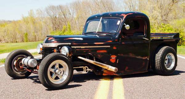 1942 Chevy Truck - rat rod