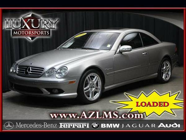 *14319- 2006 Mercedes-Benz CL55 AMG One Owner w/Navigation! 06 cl clas