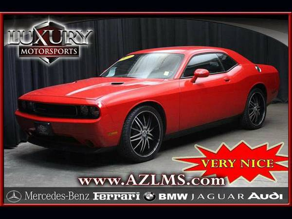 *14282- 2014 Dodge Challenger SXT 1-Owner Clean CARFAX! 14 coupe
