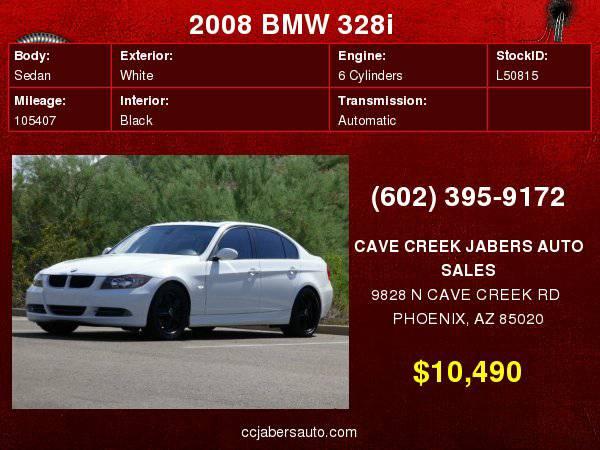 2008 BMW 3 Series 4dr Sdn 328i RWD