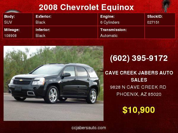 2008 Chevrolet Equinox FWD 4dr Sport