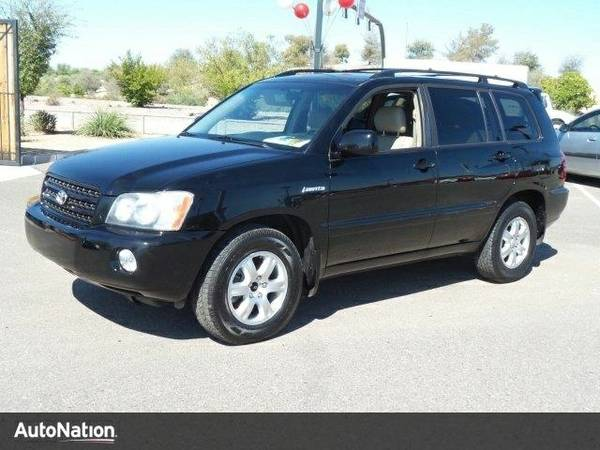 2002 Toyota Highlander Limited Toyota Highlander Limited SUV