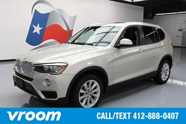 2015 BMW X3 AWD xDrive28d 4dr SUV SUV 7 DAY RETURN / 3000 CARS IN STOC