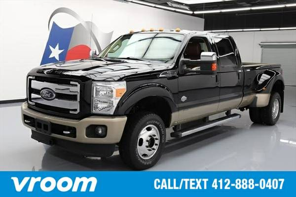 2012 Ford F-350 King Ranch 4dr Crew Cab 4WD Truck 7 DAY RETURN / 3000