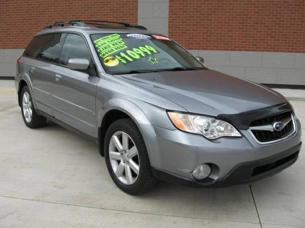 08 SUBARU OUTBACK*AWD*FULL POWER*MOON*LEATHER*LOADED*SPOTLESS
