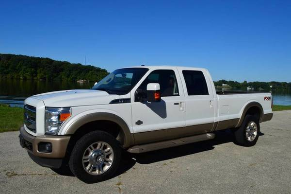 2012 Ford Super Duty F-350 SRW King Ranch Diesel 4x4