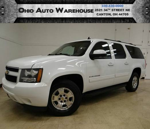 2012 *Chevrolet* *Suburban* LT 4x4 TvDVD Sunroof Clean Carfax We Finan