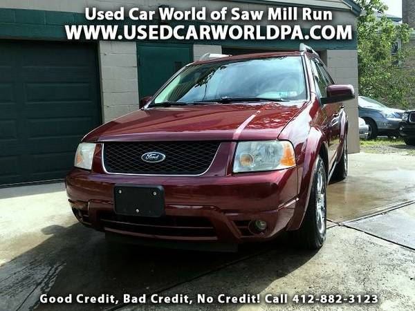 == 2006 FORD FREESTYLE LIMITED ==3rd Row, Heated Leather, CD/HD/Sat!!!