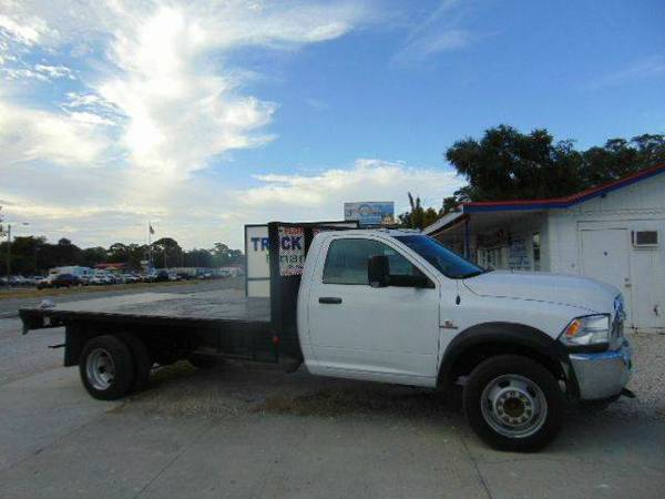 2013 Dodge Ram 5500 Flatbed Rust Free Florida Truck Delivery Available