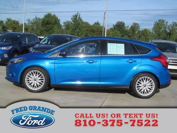 2014 Ford Focus Hatchback Titanium
