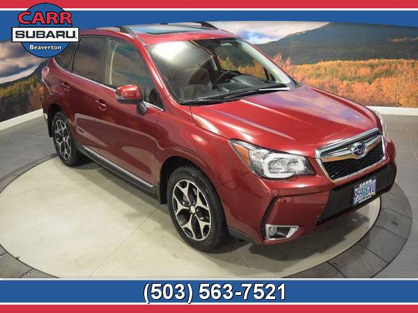 2015 Subaru Forester 2.0XT 4WD 2.0L Turbo CARFAX One Owner Wagon 15
