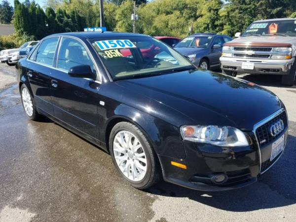 2008 *Audi A4* S-Line *AWD* Black Loaded *LUXURY SEDAN* *FREE CARFAX*