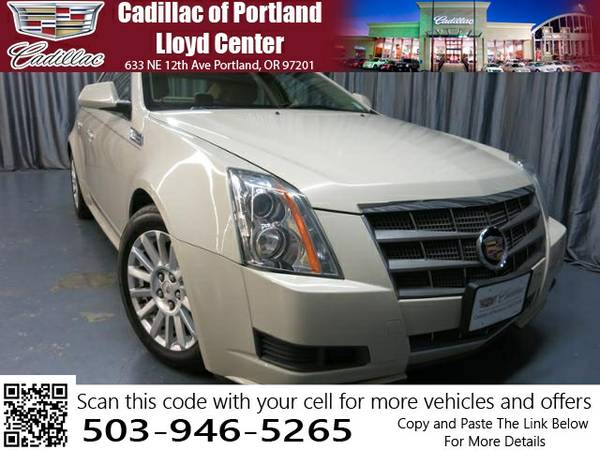 2010 CADILLAC CTS AUTOMATIC (1G6DG5EG8A0101999)