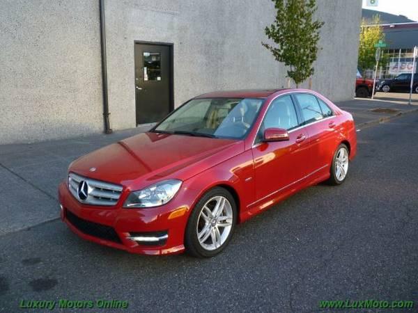 2012 Mercedes C250 Sport $0dn 44k mi $0dn $285mo 90-days 1st Pnmt Harm