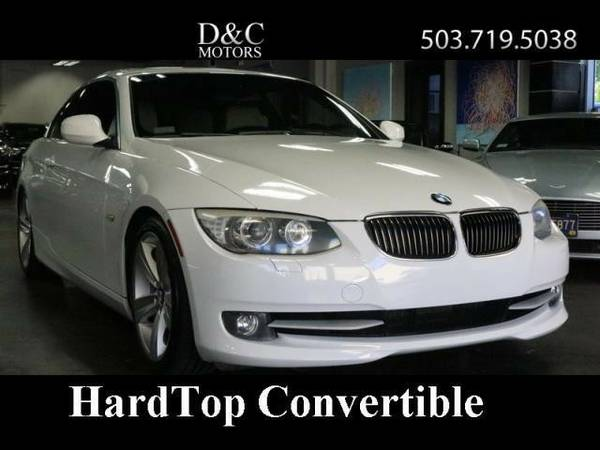2011 *BMW* *3-Series* *328i Sport HardTop Convertoble Just 58k Miles*