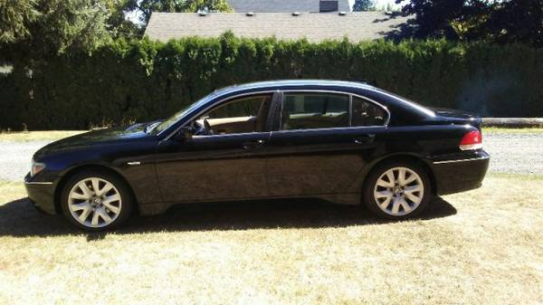 **2002 BMW 745Li**WHERE LUXURY AND POWER MEET**
