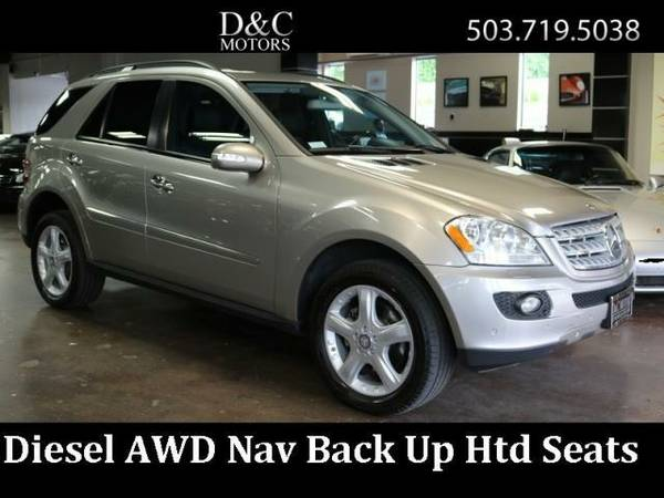 2008 Mercedes-Benz ML320 CDI AWD NAV Htd Seats