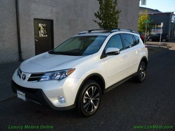 2015 Toyota RAV4 Limited AWD 12k mi $0dn $370mo 90-Days 1st Pmnt MoonR